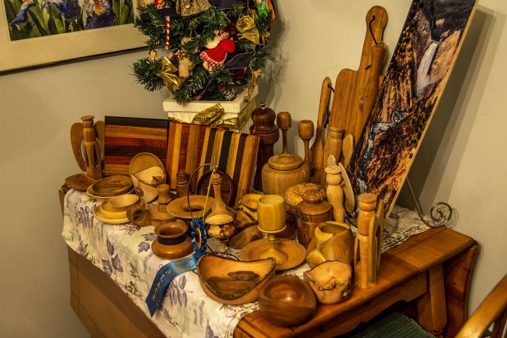 Paul Brown Woodturning Gallery