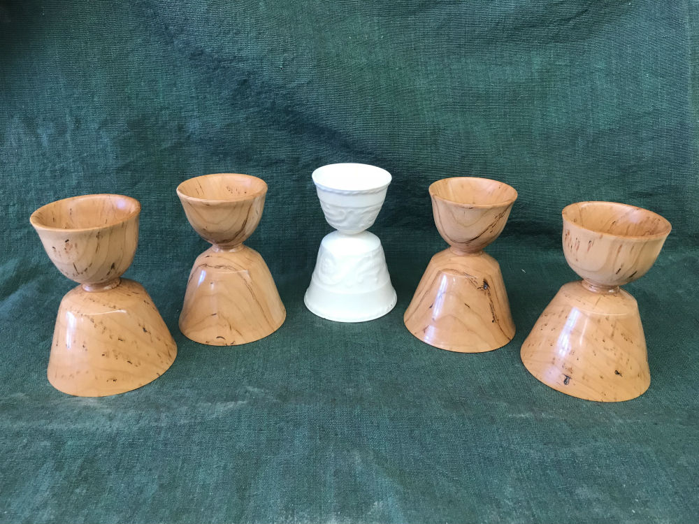 Prime Woodturning An Egg Cup Temple Blackwood Andrewgaddart Wooden Chair Designs For Living Room Andrewgaddartcom