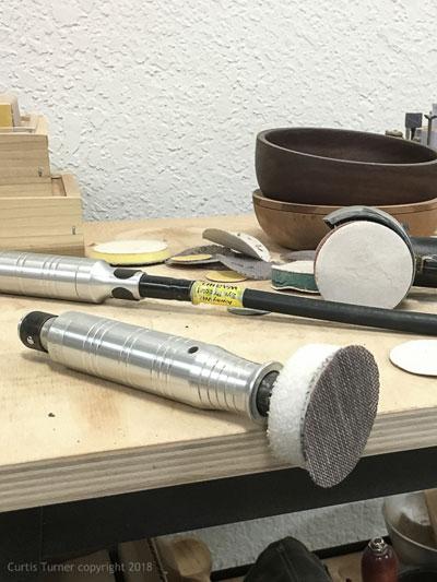 Repairing a Sanding Pad