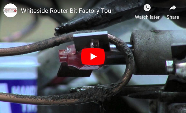 Tour the Whiteside Router Bit Factory