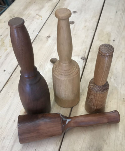 Woodturning a Mallet