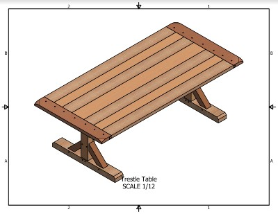 Trestle Table Project