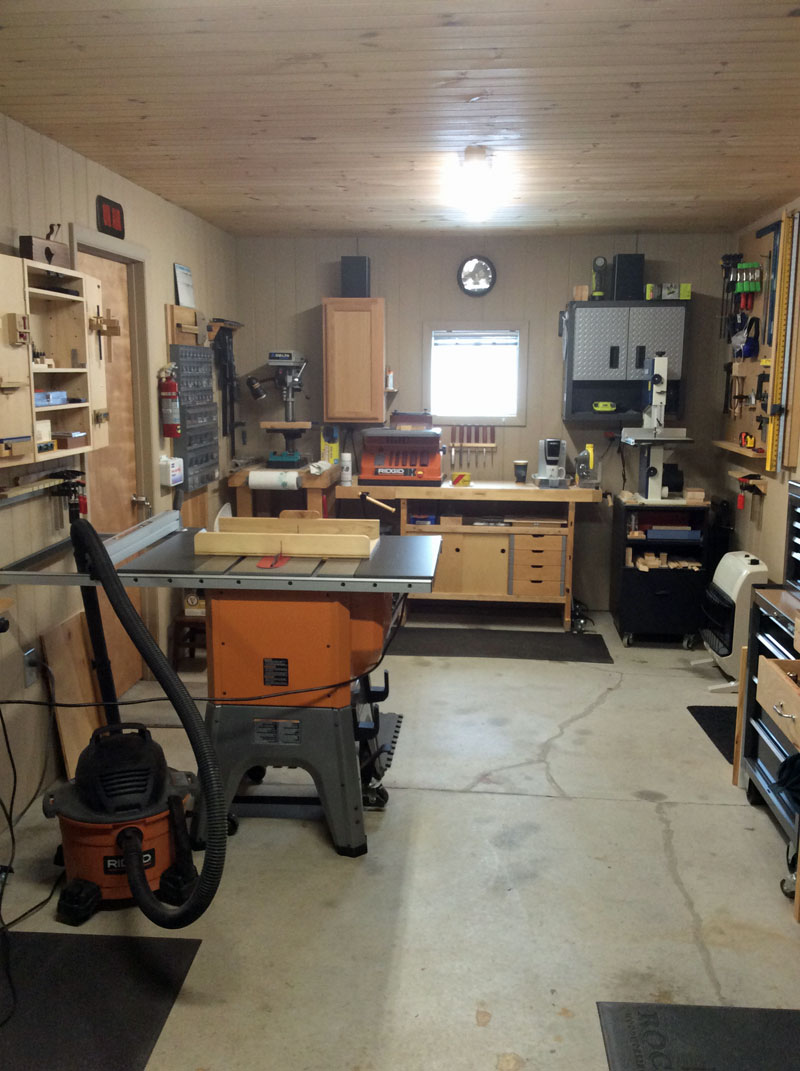 bill richardson | woodworking workshop